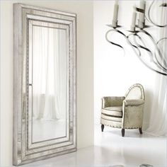 Hooker Furniture Mélange Glamour Floor Mirror - 638-50012 - Lowest price online on all Hooker Furniture Mélange Glamour Floor Mirror - 638-50012....This entire line is gorgeous!  best price at Cymax!