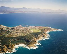 Mossel Bay, along the Garden Route of South Africa. Can see my high school if you look closely The Beautiful Country, Beautiful Places In The World, Beautiful Places To Visit, Oh The Places You'll Go, Travel Pictures, Travel Photos, Holiday Places, Holiday Destinations, Garden Route