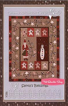 Santa's Blessings Quilt Pattern Lynette Anderson Designs