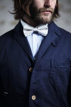beards + bow ties.