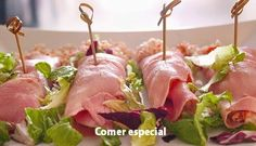 Rollitos de jamón ~ Comer especial