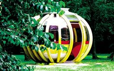 Plant one of these deluxe summerhouses in your garden    You won't need green fingers to grow this on your plot. But you will need £ 16,500...