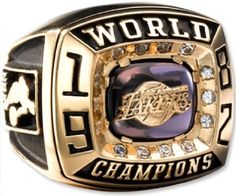 Lakers 1982 Championship Ring