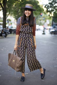 sussie bubble in car print topshop overalls, le minor for made well top, philip lim bag