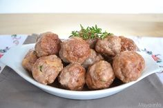 Polpette al marsala, scopri la ricetta: http://www.misya.info/2014/03/09/polpette-al-marsala.htm