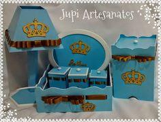 Jupi Artes: Kit de Higiene para Menino
