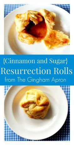 Easter! Resurrection Rolls: a fun and delicious family activity  that will teach that he is risen. The tomb is empty!
