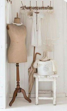 ☆ Brocante, déco vintage industrielle brocante campagne mannequin ancien