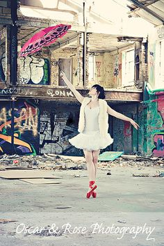 ballerina grafitti