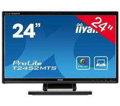 "IIYAMA ProLite T2452MTS Pantalla LED táctil 24"" Full HD B00AAVZWAW - http://www.comprartabletas.es/iiyama-prolite-t2452mts-pantalla-led-tactil-24-full-hd-b00aavzwaw.html"