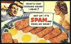 funny vintage ham ads - Google Search