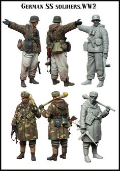 SS Grenadiers in WW2 from Evolution Miniatures