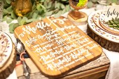 Spring Farm to Table Inspiration | Inspired by Heather Blog - Calligraphy by HOOKED Calligraphy | calligraphy, modern calligraphy, spring wedding ideas, green wedding, calligraphy menu