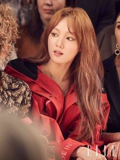 "Sandy on Twitter: ""For ELLE😍😍😍❤❤ #LeeSungKyung… "" Lee Sung Kyung Hair, Nam Joo Hyuk Lee Sung Kyung, Han Hyo Joo, Asian Actors, Korean Actresses, Actors & Actresses, Kim Bok Joo Fashion, Weightlifting Fairy Kim Bok Joo, Korean Celebrities"