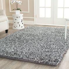 Shag Collection SG531-7612 Color: Platinum / Ivory  #rug #carpet #safavieh #safaviehrug  #trendy #homedecor #homeaccents #shophome #livingroom #diningroom #bedroom #kitchen #office #rugsforyourhome #shag #shagrug #shagcarpet #softshagrugs #shagrugdesign #stunningshagrugs #safaviehshag #safaviehshagrugs #trendyrugs #bestrugs #bestrugprices