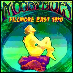 Poster for Moody Blues at the Fillmore East, New York City, March 1970 | rock rare collection fetish