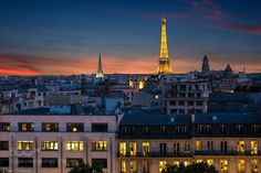 Paris city of light ! by davidik