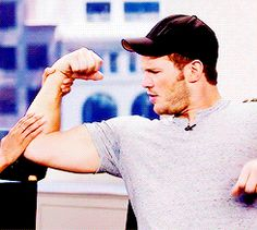 Just look at everything that's happening here. | 31 Times Chris Pratt Was Perfection In Human Form