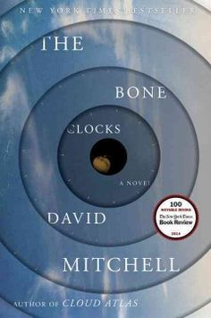 The bone clocks : a novel by David Mitchell. Click the cover image to check out or request the science fiction and fantasy kindle.