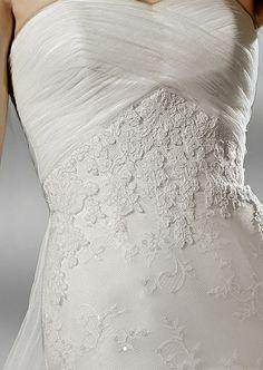 Stunning rouge detail on the bodice info@belledemoiselle.co.za