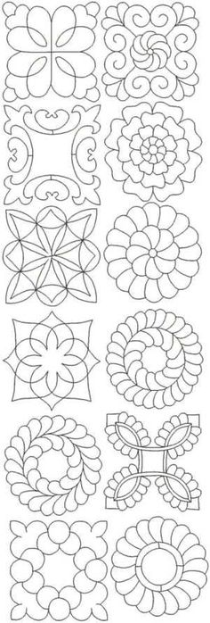 Supposed to be for embroidery, but these patterns would be nice for anything! by DebsontheWeb