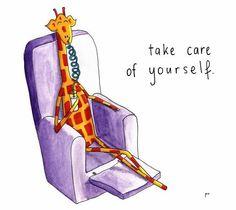 Gib gut auf dich acht! Giraffe Party, Cute Giraffe, Giraffe Quotes, Giraffe Pictures, Pewter Art, Funny Encouragement, I Love The Beach, Stand Tall, Feeling Happy
