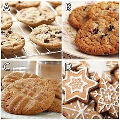 It's the best time of the year! No not the holidays... it's #NationalCookieDay! What is your favorite recipe?  #Vocalpoint  A. Chocolate chips B. Oatmeal raisin C. Peanut butter D. Other