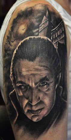 bela lugosi tattoo - Google Search | Bela Lugosi Tattoos ...