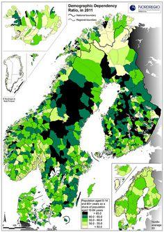 Nordregio, huikea määrä erilaisia teemakarttoja!