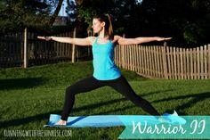 #4 Warrior II (Virabhadrasana II)  Morning poses for beginners