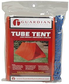 Introducing 2 Person Tube Tent with Cord by Guardian. Great product and follow us for more updates!