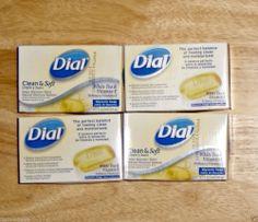 Dial Clean & Soft White Tea & Vitamin E Glycerin Bar Soap - Separate 4 x 4 oz - #FreeShipping #$10.99