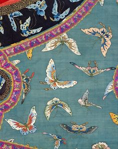Woman's Sleeveless Jacket with Butterflies. China, late C19th–early C20th (via The Metropolitan Museum of Art)