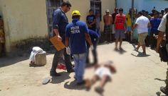 R12 Noticias: Homem é morto com oito tiros em Teixeira de Freitas