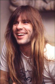 Bruce Dickinson - Iron Maiden - circa 1984/1985 - Powerslave tour