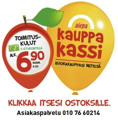 """Alepa: Etusivu Considered a """"cheap"""" corner store in the Helsinki area, they are open for business longer than some others, and say their prices are better...."""