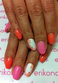 cute and simple nail design #nail #nails #nailart #unha #unhas #unhasdecoradas
