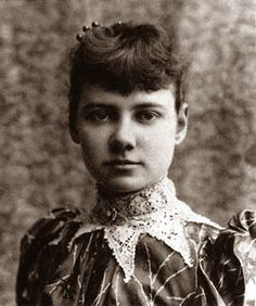 Nellie Bly, 19th century investigative journalist. Her undercover reports on the horrors of New York mental asylums led to humanising reforms which improved the lives of patients immeasurably.