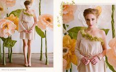 Love this photo shoot, want those flowers