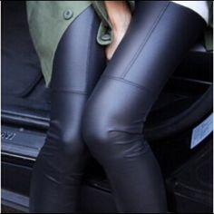 Closet staple vegan leather leggings Closet staple vegan leather leggings Pants Leggings