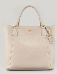 Prada Daino Snap-Top Tote Bag