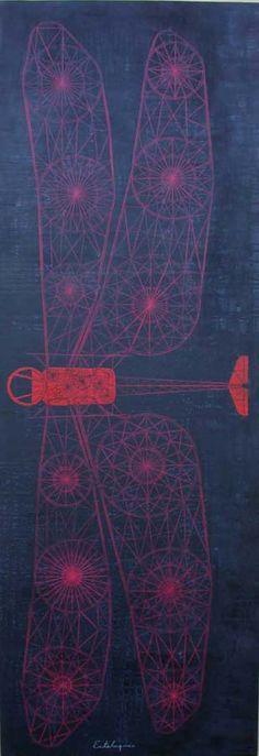 El arte de mutar, Carlos Estevéz [per previous pinner] Textile Prints, Textile Design, Design Art, Graphic Design, Carlos Estevez, Spirograph, Insect Art, Technical Drawing, Contemporary Artists