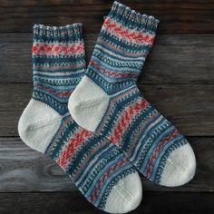 summer a&c: *pattern: afterthought heel socks* *yarn: schachenmayr regia design line by arne & carlos* *june*
