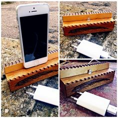 phone charger #phone charger #wood