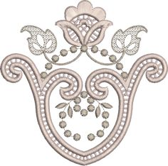 cut work embroidery patterns - Google Search