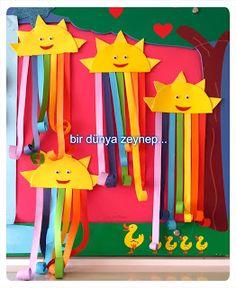 #preschool #okulöncesi #kindergarten #sayılar #sanatetkinliği #kidscraft #gökkuşağı #rainbow