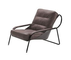 Maggiolina   900 from Zanotta at Interior Design productFIND: Lounge chair. Ø 18 mm, 18/8 polished stainless steel tubular frame, or ...
