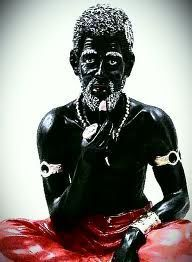 Papa Legba, the one who opens the way.