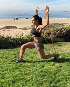 """671 Likes, 6 Comments - Alexia Clark (@alexia_clark) on Instagram: """"Travel Workout 1. 12 reps each leg 2. 40seconds 3. 15 Reps 4. 12 reps each round 3-5 rounds…"""""""