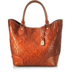 Cole Haan Optical Weave Triangle Tote | Cole Haan Handbags from Bag Borrow or Steal™